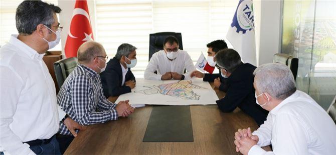 AK Parti'den Tarsus TSO'ya ziyaret
