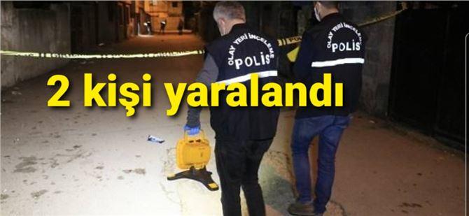 Tarsus'ta iki ayrı silahlı saldırı olayı, 2 yaralı