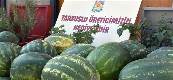 Tarsus Belediyesi çiftçiden alıyor dar gelirli vatandaşlara veriyor