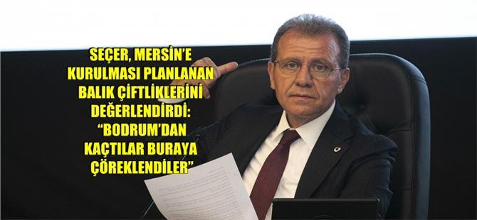 """Başkan Seçer, limanın genişletilmesiyle ilgili konuştu: """"Bu kente yazık etmeyelim"""""""