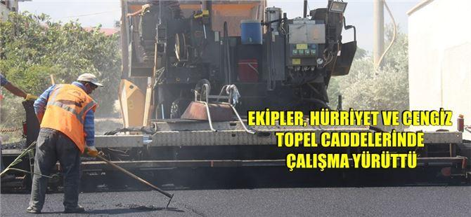 Büyükşehir ekiplerinden Kargıcak'ta yol çalışması