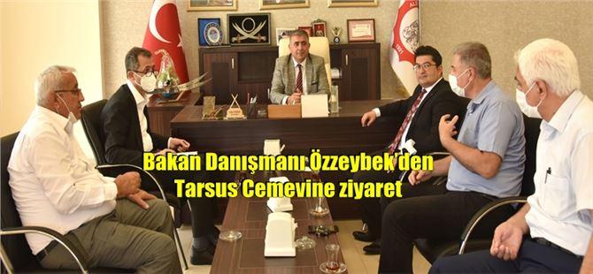 Bakan Danışmanı Özzeybek'den Tarsus Cemevine ziyaret