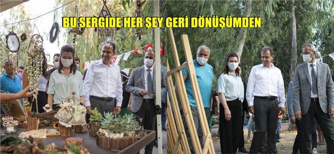 Tarsus Gençlik Kampı'nda geri dönüşümden elde edilen ürünler sergilendi