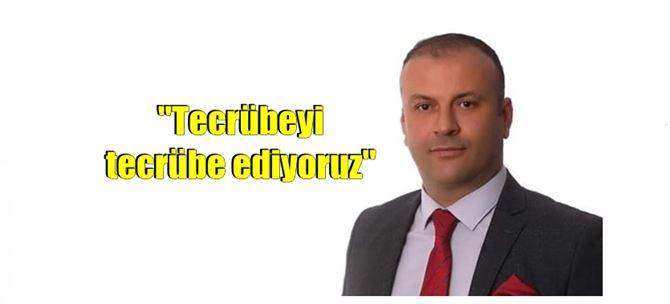 """Umut Partisi Genel Başkanı Bozkurt """"Tecrübeyi tecrübe ediyoruz"""""""