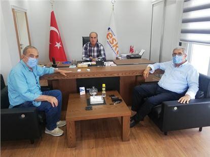 Sarpkaya'dan Mehmet Özel'e Ziyaret