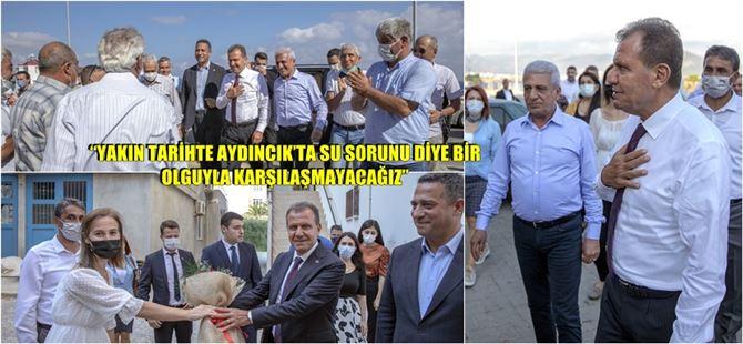 Başkan Vahap Seçer 2. bölgeye çıkarma yaptı!