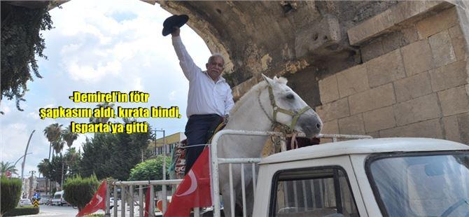 DYP'li eski Belediye Başkanı Demirel'in Mezarına kıratla girecek