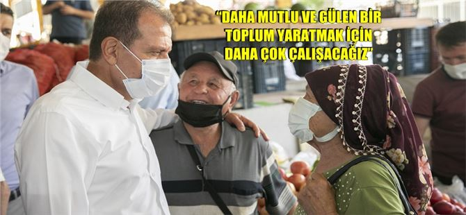 Başkan Seçer, Anamur ve Bozyazı'da vatandaşlarla buluşup, sıkıntıları dinledi