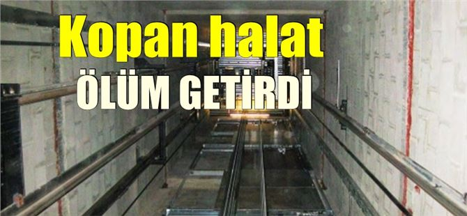İşçi 8. kattan asansör boşluğuna düşerek öldü
