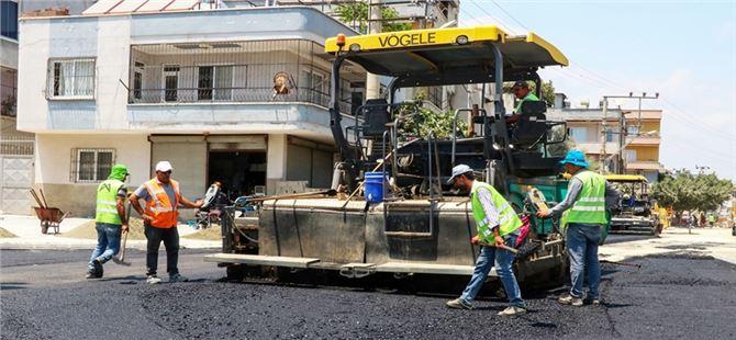 Büyükşehir'den Şevket Sümer Ve Güneş Mahallerinde Yol Çalışması