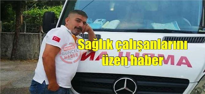 Tarsus'ta sağlık çalışanı Halis Serin yaşamını yitirdi