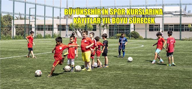 Mersin Büyükşehir'in Spor Kursları 27 Branşta Yeniden Başlıyor