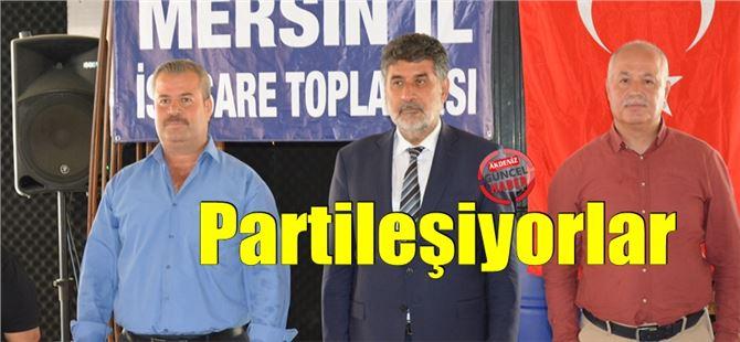 Milli Yol Hareketi Mersin il istişare toplantısı Tarsus'ta yapıldı