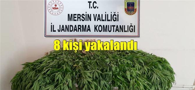 Mersin'de uyuşturucu operasyonu: 4 tutuklama