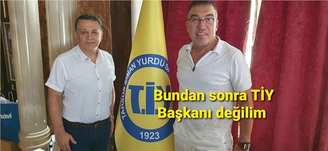 Şahin Kırbıyık, TiY başkanlığından noter kanalıyla istifa etti