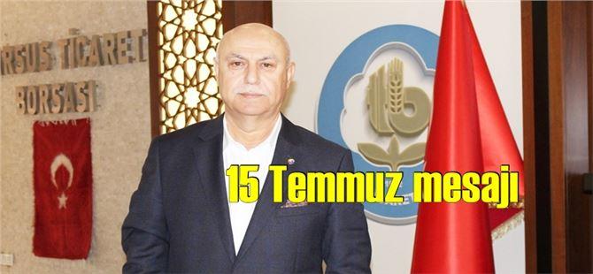 """Murat Kaya: """"Demokrasi mücadelesinin adı 15 Temmuz """""""