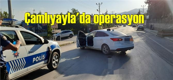 Firari şahıs operasyonla Çamlıyayla'da yakalandı