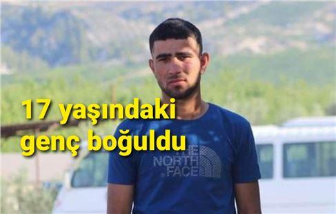 Mersin'de 17 yaşındaki genç boğuldu