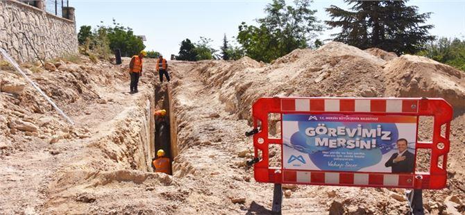 MESKİ, Gözne Mahallesi 1. etap kanalizasyon çalışmalarına başladı