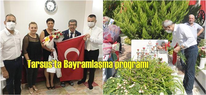 Tarsus'ta Şehitlik ve Şehit-Gazi Aileleri ziyaret edildi