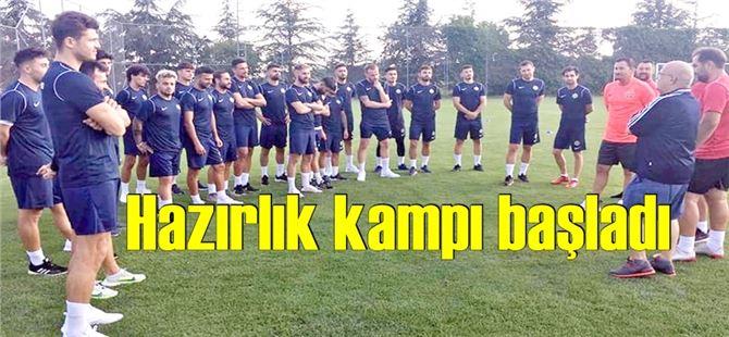 Tarsus İdmanyurdu yeni sezon hazırlıklarına Kızılcahamam'da başladı