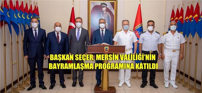 Başkan Seçer, bayramın ilk günü kent protokolüyle bayramlaştı