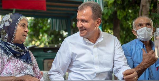 Başkan Seçer, Tarsus ve Çamlıyayla'da vatandaşlarla buluştu
