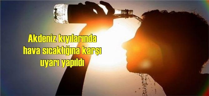 Meteoroloji'den, Marmara, Ege ve Akdeniz için 'sıcak' uyarısı