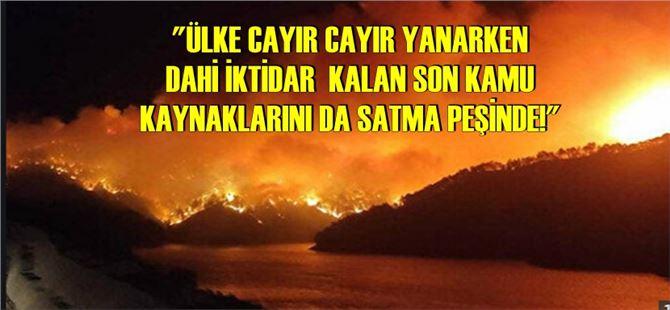 """Tarsus Eğitim-Sen'den iktidara """"yangından mal kaçırma"""" tepkisi!"""