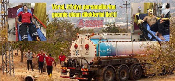 """Başkan Ozan Varal: """"Mersin'de ciğerimiz yanıyor"""""""