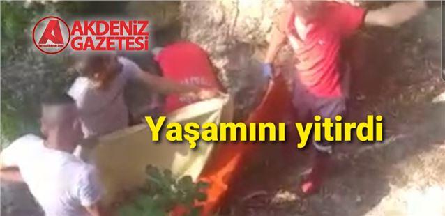 Tarsus Şelalesinde yaşanan olayda  12 yaşındaki çocuk hayatını kaybetti