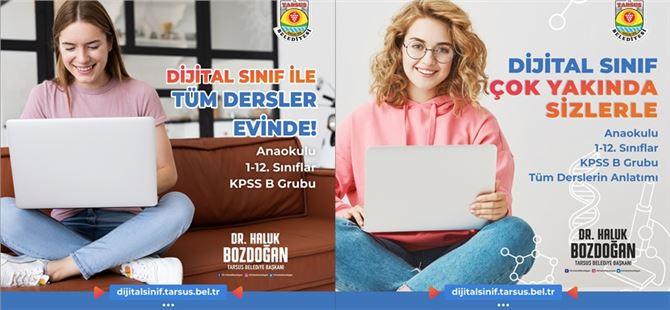 Tarsus Belediyesi'nin vizyon projesi, dijital sınıf yakında açılıyor