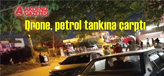 Mersin'de bir petrol tesisinde patlama meydana geldi