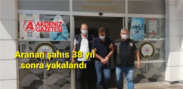 53 yıl kesinleşmiş cezası olan şahıs Mersin'de yakalandı