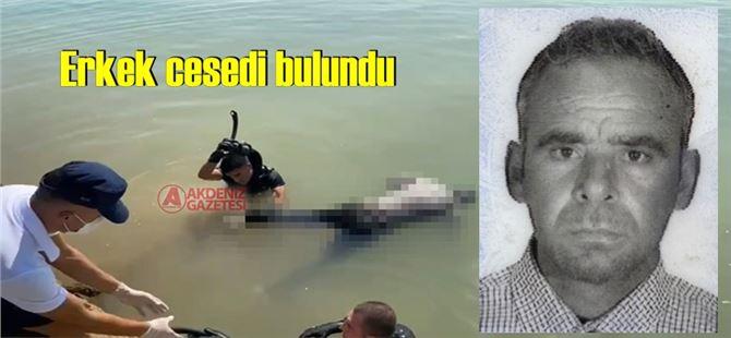 Mersin'de denizden erkek cesedi çıkartıldı