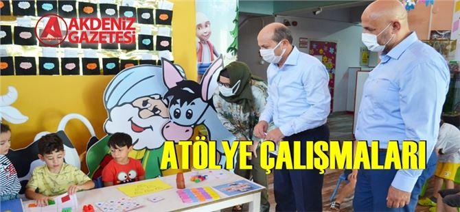 """Tarsus Anaokulu'nda Yaz Okulu """"atölye çalışmaları"""""""