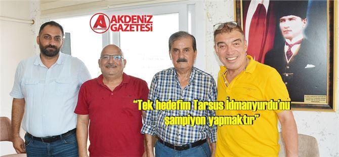 TİY Kulüp Başkanı Şahin Kırbıyık'tan Akdeniz'e ziyaret