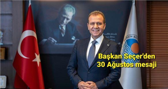 Başkan Vahap Seçer'den Zafer Bayramı mesajı