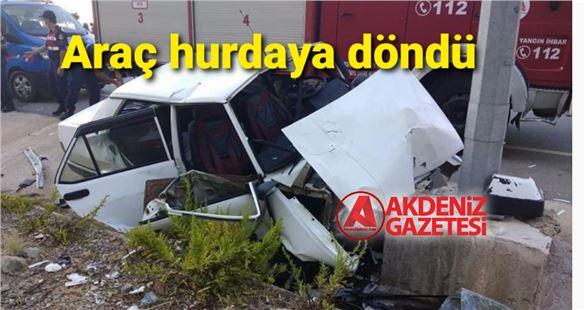 Mersin'de feci kaza; 2 ölü, 3 yaralı