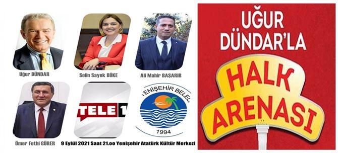 Uğur Dündar'ın Halk Arenası 9 Eylül'de Mersin'de