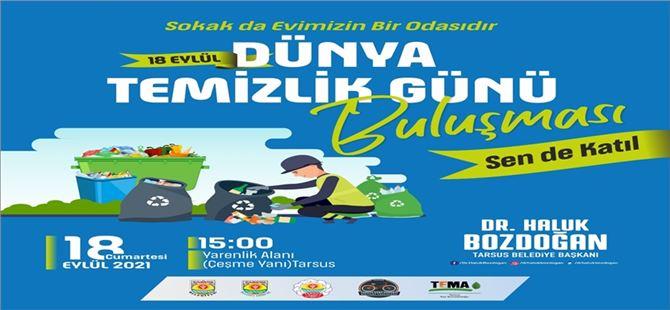 Tarsus'ta Dünya Temizlik Günü etkinliği