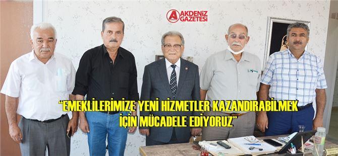 Başkan Kurnaz, Tarsus'ta ziyaretlerde bulundu