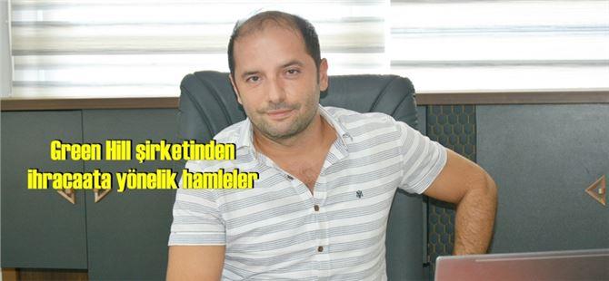 Genç iş insanı Ahmet Yıldırım, tarım sektörüne değer katıyor