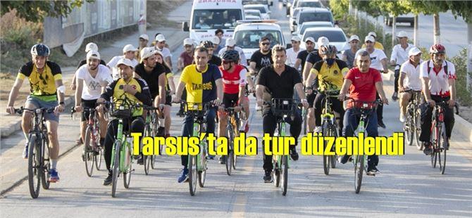 Mersin'de pedallar daha fazla hareket için çevrildi