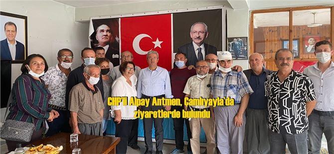 CHP'li Alpay Antmen, Çamlıyayla'da ziyaretlerde bulundu