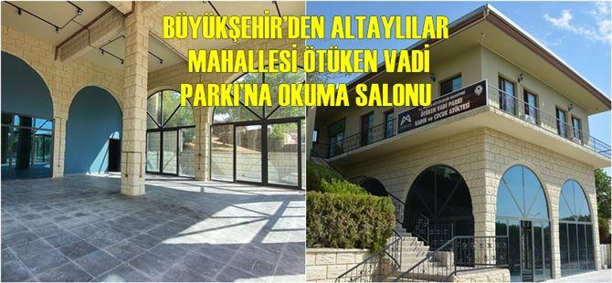 Büyükşehir, Tarsus'a yeni bir okuma salonu kazandırıyor