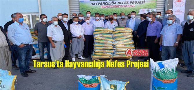 30 üreticiye bin 800 kilo çim tohumu dağıtıldı