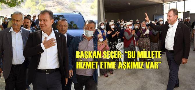 Mersin'i karış karış gezen Başkan Seçer, vatandaşların taleplerini dinliyor