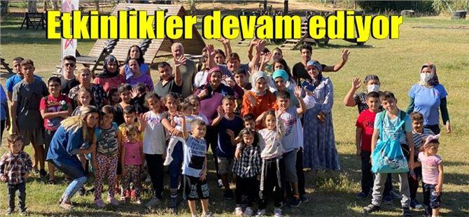 Tarsus Gençlik Kampı'nda halk günü etkinlikleri devam ediyor