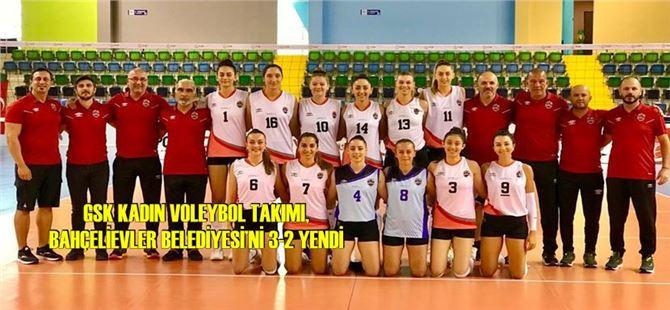 GSK Kadın Voleybol Takımı Ligin İlk Haftasında İlk Galibiyetini Aldı